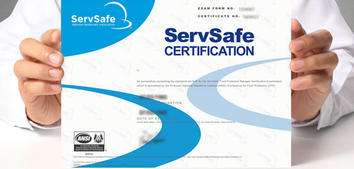 Maryland Food Manager Certification | ServSafe Exam & Class