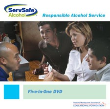 ServSafe Alcohol All-in-One DVD DVD, English