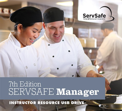 ServSafe Manager Instructor Tools USB Drive, 7th Edition