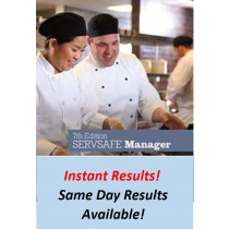 ServSafe Book 7th Edition +  Exam Instant Results