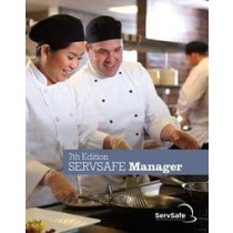 ServSafe Manager Book 7th Ed, English, with Online Exam Vouc