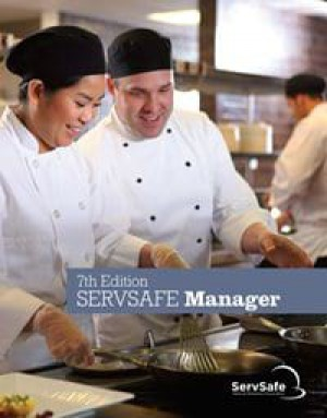 ServSafe Manager Book 7th Ed, English with exam answer sheet